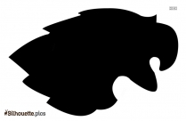 Free Eagle Mascot Silhouette