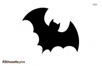 Bat Silhouette Free Vector Art