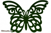 Butterfly Art Silhouette Picture Vector