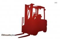 Free Forklift Silhouette