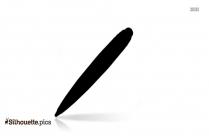 Free Fountain Pen Sketch Silhouette
