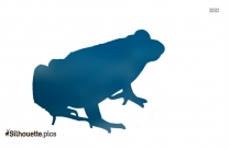 Frog Silhouette Vector And Graphics