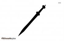 Free Gladius Sword Silhouette