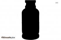 Free Glass Bottle Silhouette