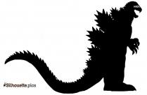 Godzilla Destroyah Silhouette Clipart
