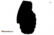 Grenade Silhouette Illustration