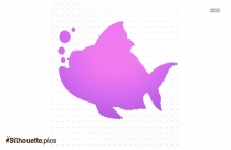 Free Cartoon Fish Silhouette