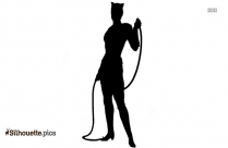 Catwoman Silhouette Clip Art