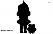Doraemon Cartoon Vector Clipart Silhouette