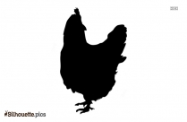 Free Hen Drawing Silhouette