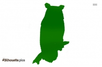 Free Horned Owl Clipart Silhouette