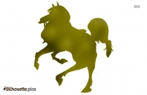 Free Horse Galloping Silhouette