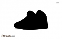 Jordan Shoes Silhouette Drawing