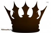 King And Queen Crown Silhouette