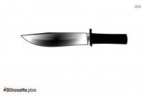 Knife Cutlery Silhouette Free Vector Art