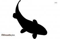 Koi Fish Image Silhouette For Download