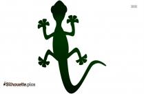 Lizard Silhouette Clip Art