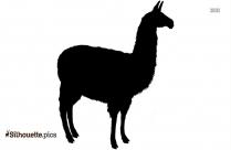 Free Llama Silhouette