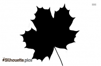 Free Maple Leaf Silhouette