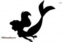 Girl Mermaid Silhouette Clipart