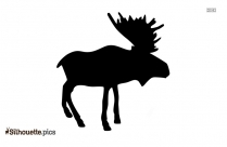 Deer Silhouette Clipart Drawing Image