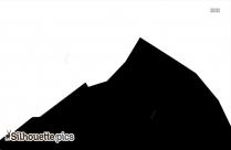 Mountain Silhouette Icon