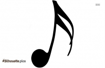 Music Note Silhouette Picture Free