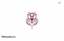 Free Owl Tattoo Drawing Silhouette