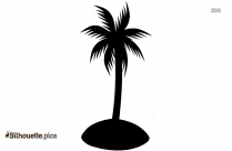 Coconut Tree Toys Clipart Silhouette