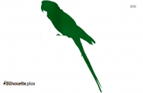 Parrot Silhouette Illustration