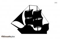 Free Peter Pan Pirate Ship Silhouette