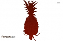 Free Pineapple Plant Vector Silhouette