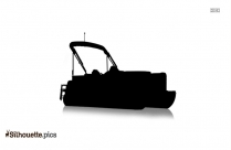 Powerboat Silhouette Art