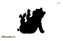 Tigger And Piglet Silhouette Clipart, Free Winnie The Pooh Characters Image For Download