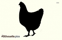 Free Printable Chicken Silhouette