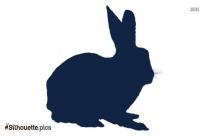 Bunny Cartoon Silhouette Clipart