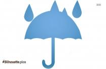 Free Umbrella Emoji Silhouette