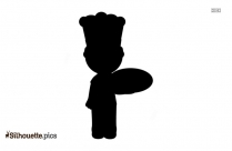 Free Male Chef Cartoon Silhouette