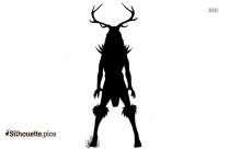 Hydra Monster Silhouette Art