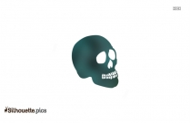 Skull And Crossbones Silhouette Vector And Graphics