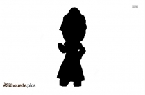 Cartoon Woman Clipart Silhouette