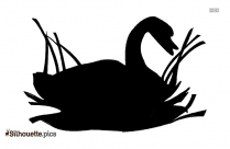 Free Swan Art Silhouette Picture