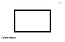 Rectangle Frame Silhouette Picture