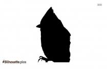 Cartoon Quetzal Silhouette