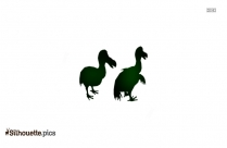 Real Dodo Bird Silhouette Art