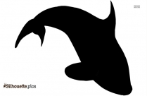 Baby Blue Whale Clip Art Silhouette