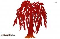 Cartoon Tree Silhouette Icon