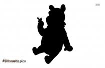 Pooh Rabbit Silhouette Free Vector Art, Winnie The Pooh Clip Art