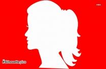Human Head Silhouette Icon