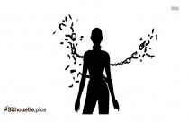 Free Woman Symbol Silhouette